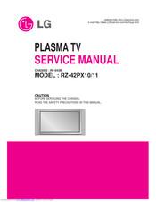 Rz 42px11 manual.