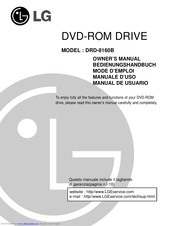 LG DRD-8160B Owner's Manual