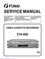 Funai 29B-250 2 Head VCR