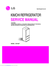 LG GR-K30 Series Service Manual