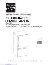 Kenmore 795 7809 Series Manuals