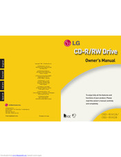 LG CED-8042B Owner's Manual