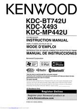 Kenwood eXcelon KDC-X493 Manuals | ManualsLibManualsLib