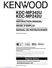 kenwood kdc-mp342u instruction manual pdf download. kdc mp342u wiring diagram  manualslib