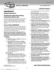 Snowjoe Sj621 Manuals Manualslib