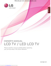 LG - Owner's Manual