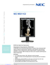 NEC MD211C2 Technical Specifications