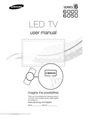 Samsung 6000 Series User Manual