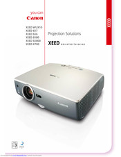 Canon XEED SX80 Specifications