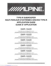 [DIAGRAM_09CH]  ALPINE SWR-1542D APPLICATION MANUAL Pdf Download | ManualsLib | Alpine Swr 12d2 Wiring Diagram |  | ManualsLib