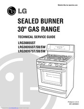 [DIAGRAM_1JK]  LG LRG30855ST TECHNICAL SERVICE MANUAL Pdf Download | ManualsLib | Lg Stove Top Wiring Diagram |  | ManualsLib