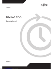 Fujitsu B24W-5 ECO Operating Manual