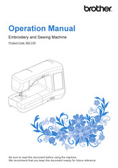 Brother 882-C50 Operational Manual