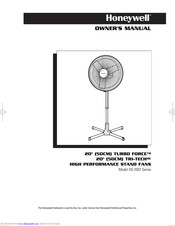 Honeywell HS-2007 Series Owner's Manual