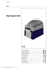 Electrolux High Speed Grill Instruction Manual