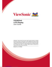 ViewSonic VA2214S User Manual