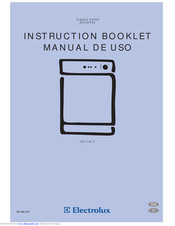 Electrolux EDC 506 E Instruction Booklet