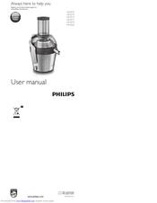 Philips HR1870 Manuals | ManualsLib