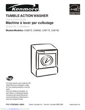 Kenmore C48192 Use & Care Manual
