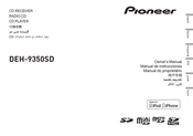 Pioneer DEH-9350SD Owner's Manual