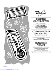 Whirlpool PORTABLE AIR CONDITIONER Use & Care Manual