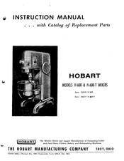 Hobart H 600 T Instruction Manual Pdf Download Manualslib