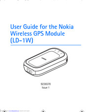 Nokia LD-1W - GPS Module User Manual