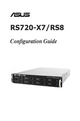 Asus RS720-X7/RS8 Configuration Manual