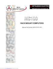 Mitsubishi Electric MC100 Manual