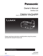 Panasonic DMW-YAGHPP Owner's Manual