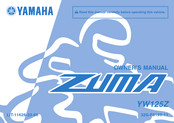 Yamaha YW125Z Owner's Manual