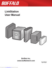 User manual buffalo hs-dhgl: linkstation live 1.