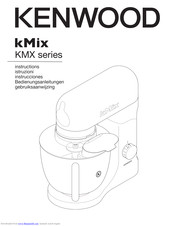 Kenwood kMix Instructions Manual