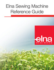 Elna 8600 Reference Manual