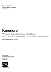 Kenmore 253.76125 Use & Care Manual