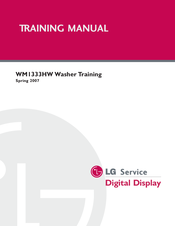 LG WM1333HW Training Manual