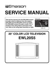 Emerson Ewl20s5 Manuals Manualslib