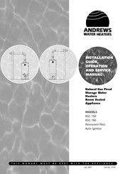 Andrews RSC 190 Installation And Operation Manual