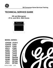 Ge Jtp86 Manuals Manualslib