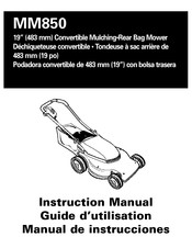 Black & Decker MM850 Instruction Manual