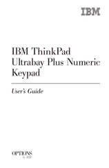 IBM ThinkPad Ultrabay Plus User Manual