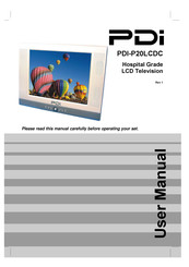 """PDi P20LCDB 20/"""" Pillow Speaker Controlled LCD Hospital Grade TV PDI-P20LCDB"""