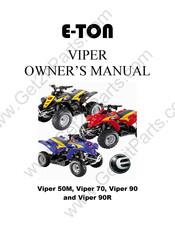 E-TON VIPER 50M OWNER'S MANUAL Pdf Download | ManualsLibManualsLib