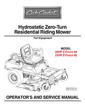 Cub Cadet 23hp Z Force 50 Manuals Manualslib