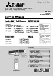 Mitsubishi Electric Mr.Slim PKA-RP71FAL Service Manual