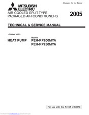 Mitsubishi Electric PEH-RP250MYA Technical & Service Manual