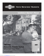 Briggs And Stratton Transfer Switch Wiring Diagram from data2.manualslib.com