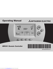 Mitsubishi Electric MRCH1 Operating Manual