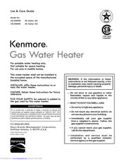 Kenmore 153.336930 Use & Care Manual