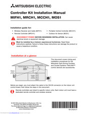 Mitsubishi Electric MRCH1 Installation Manual